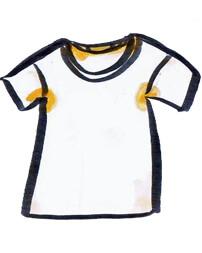 黄ばんだシャツ